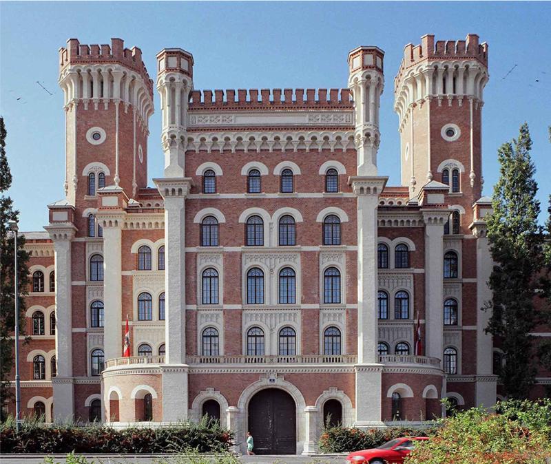 Rossauer Kaserne Portal